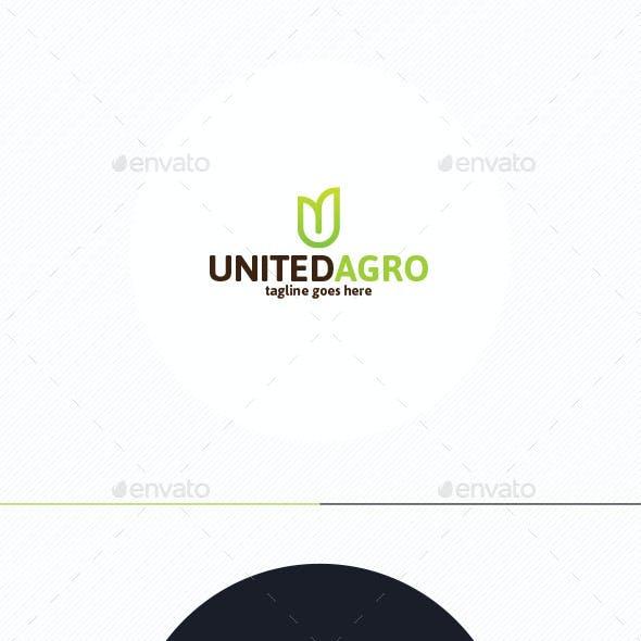 United Agro Logo • Letter U