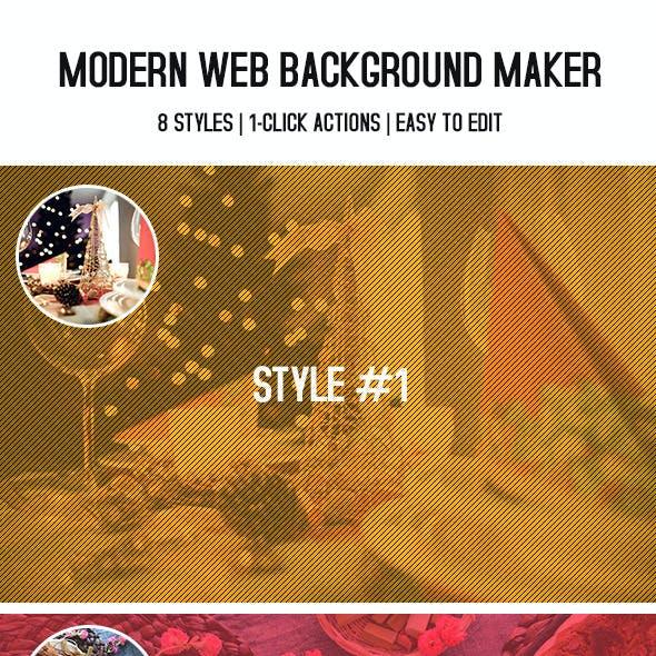 Modern Web Background Maker