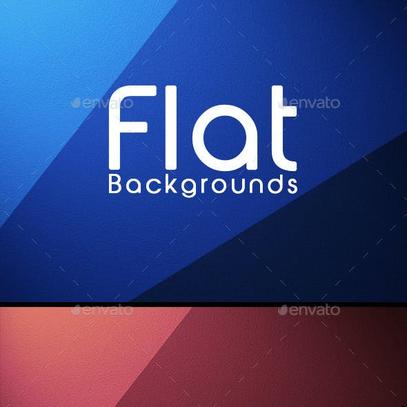 Flat Backgrounds