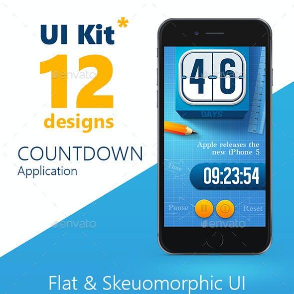 Countdown App UI