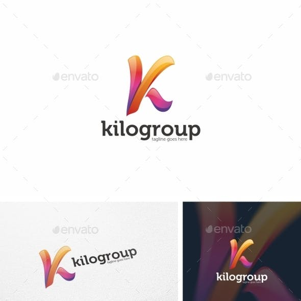 Abstract K Letter - Logo Template