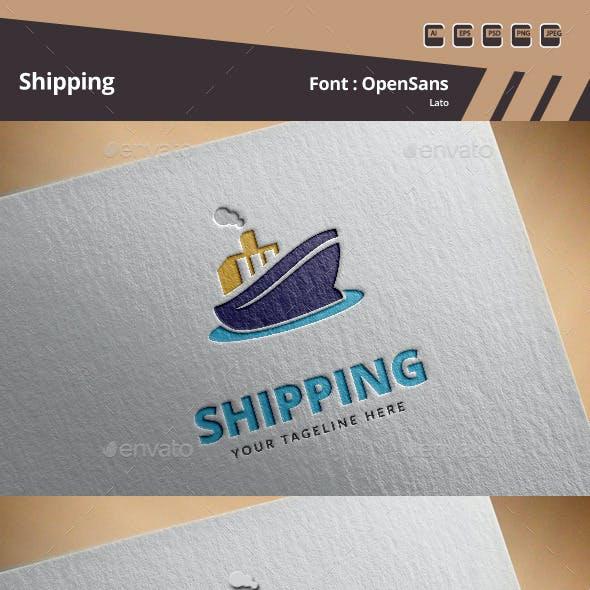 Shipping Logo Template