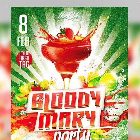 Flyer Bloody Mary Konnekt
