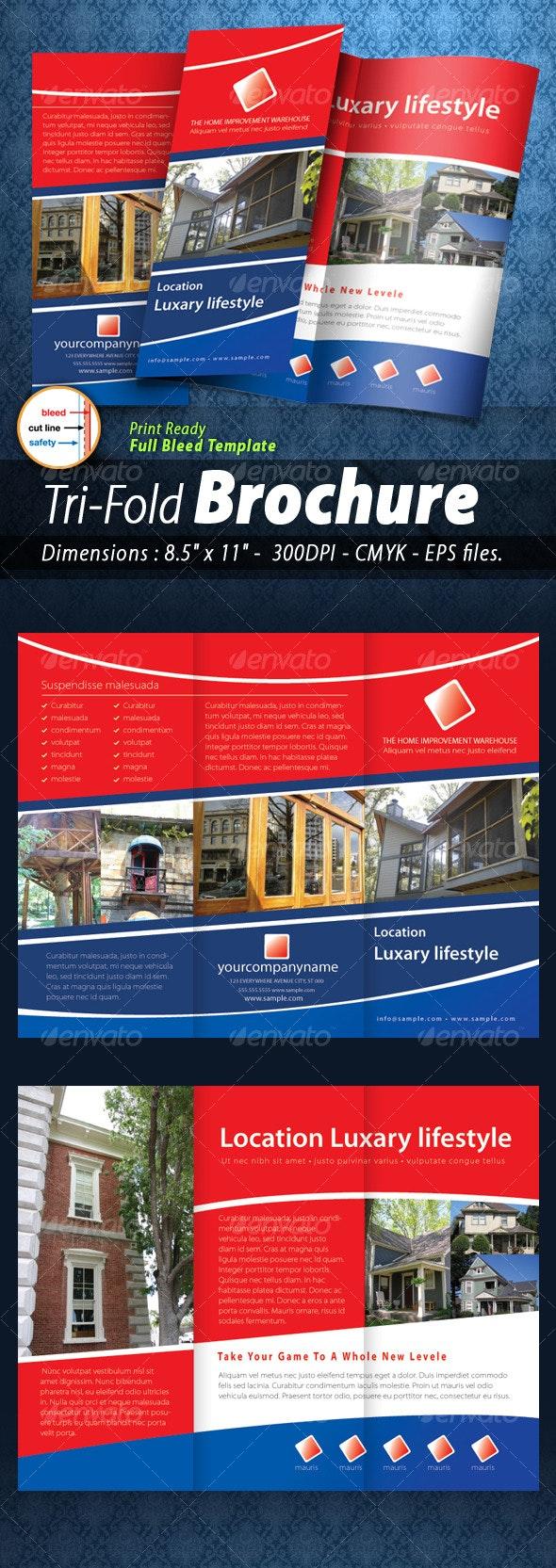 Tri-fold Brochure [Print ready] - Corporate Brochures