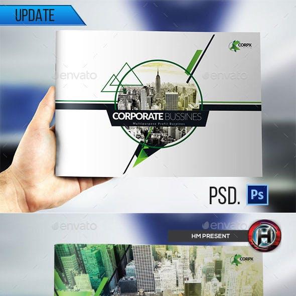 Multipurpose Modern Corporate Geometris Brochure