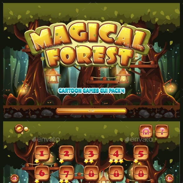 GUI Magical Forest