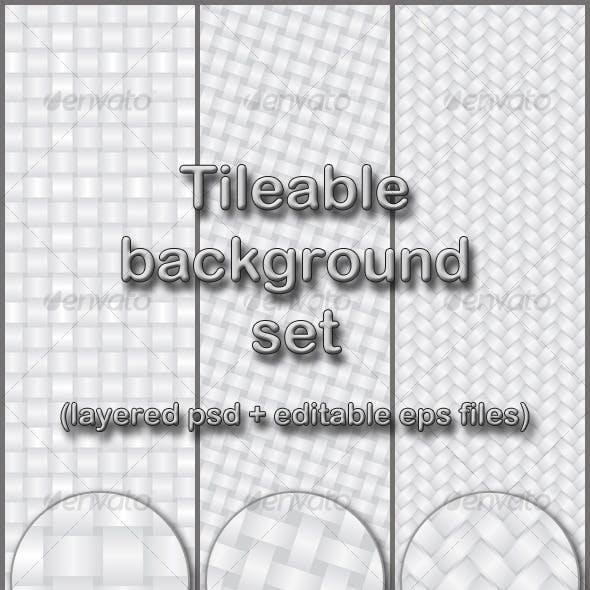 light gray tileable background set