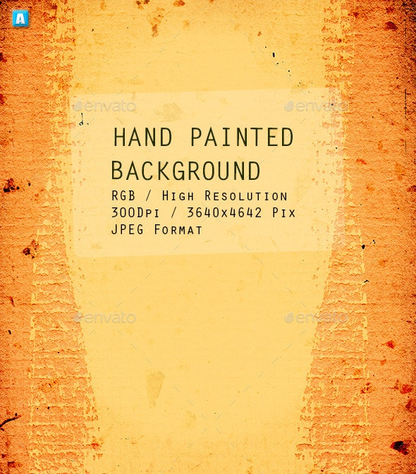 Hand Painted Background 0075