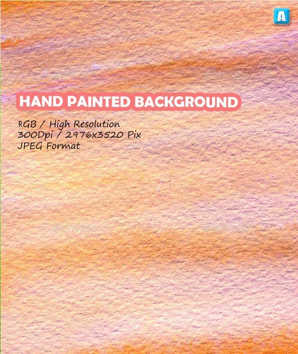 Paint Brush Strokes On Paper 0076