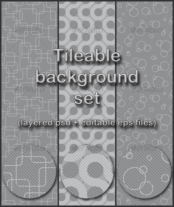 gray tileable background set - Miscellaneous Textures