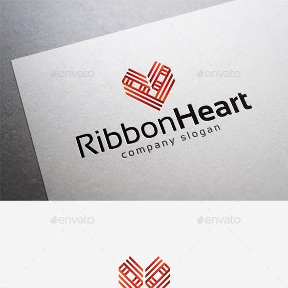 Ribbon Heart Logo
