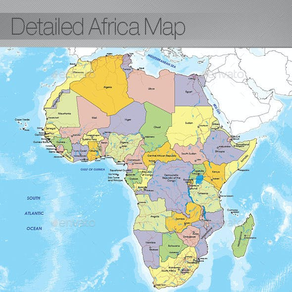 Map Of Africa Graphics, Designs & Templates from GraphicRiver Up To Date Maps Of Africa on map of africa food, map of africa updated, map of africa current, map of africa 2014, map of africa google, map of africa cdc, map of africa detailed, map of africa clear,