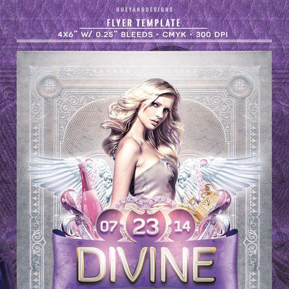 Divine Flyer Template