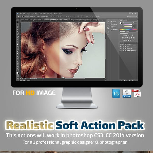 Realistick Soft Action Pack