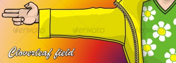 Cloverleaf field - People Characters