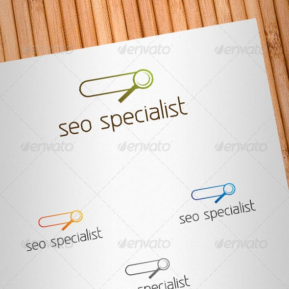 Seo Specialist Logo Template V2