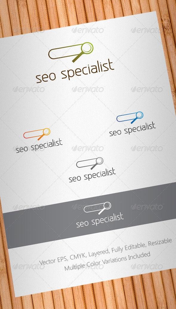 Seo Specialist Logo Template V2 - Symbols Logo Templates