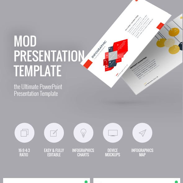 Mod Presentation Template for Business