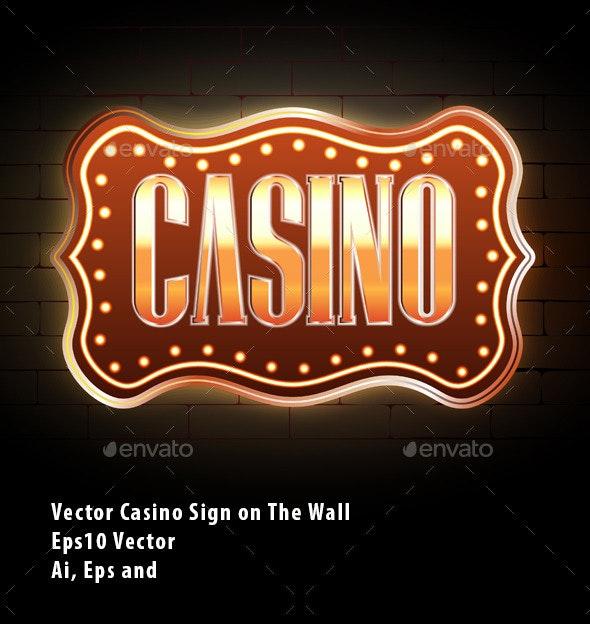 Casino Sign - Miscellaneous Conceptual