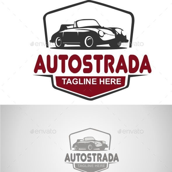 Classic Car Logo Design