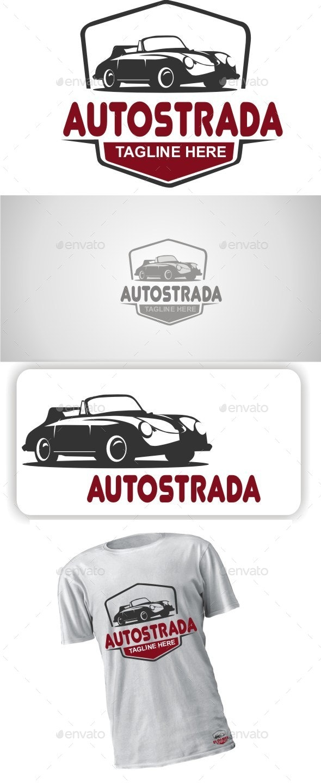 Classic Car Logo Design - Objects Logo Templates