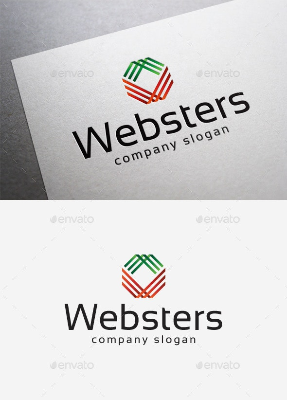 Websters Logo - Abstract Logo Templates