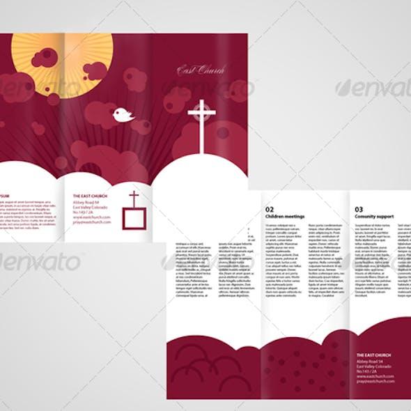 Local church Trifold Brochure