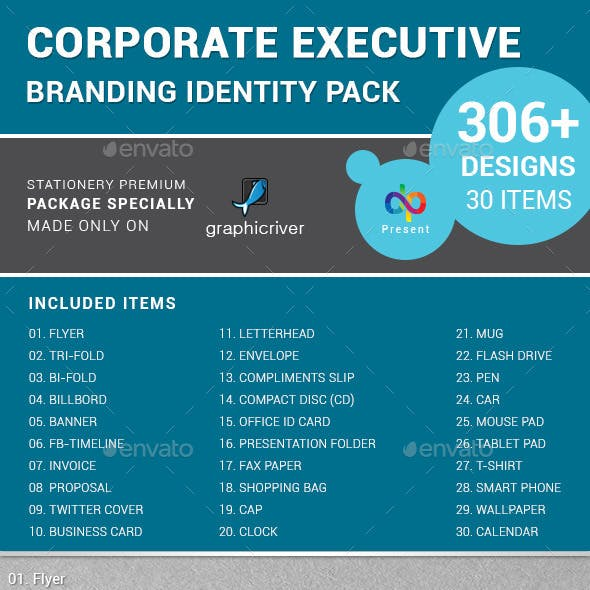 Corporate Executive Branding Identity Pack