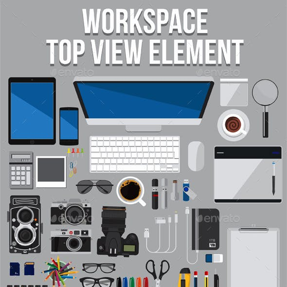 Workspace Top View Elements V2