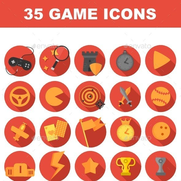 35 Game icons