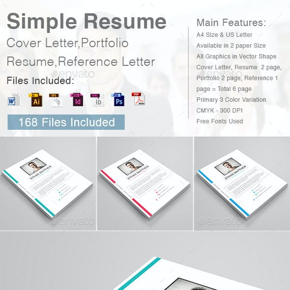 Portfolio Resume Templates from GraphicRiver (Page 13)