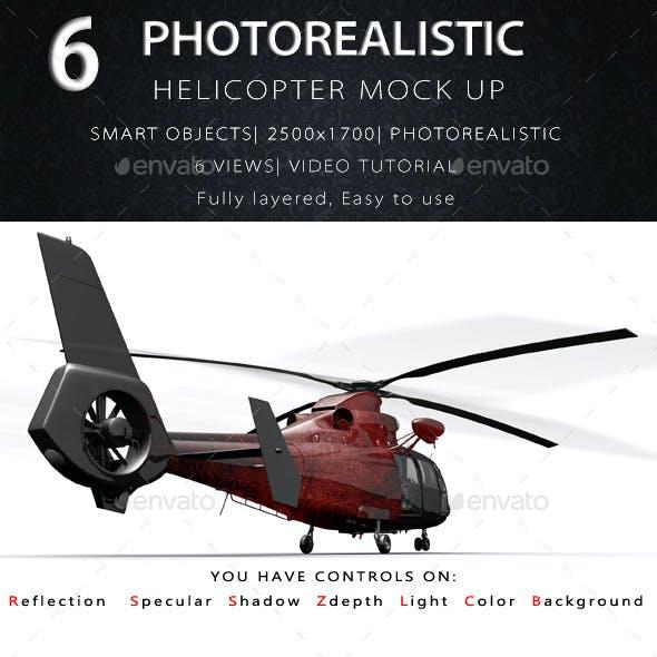 Helicopter Mock Ups