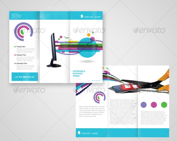 Internet provider - Corporate Brochures