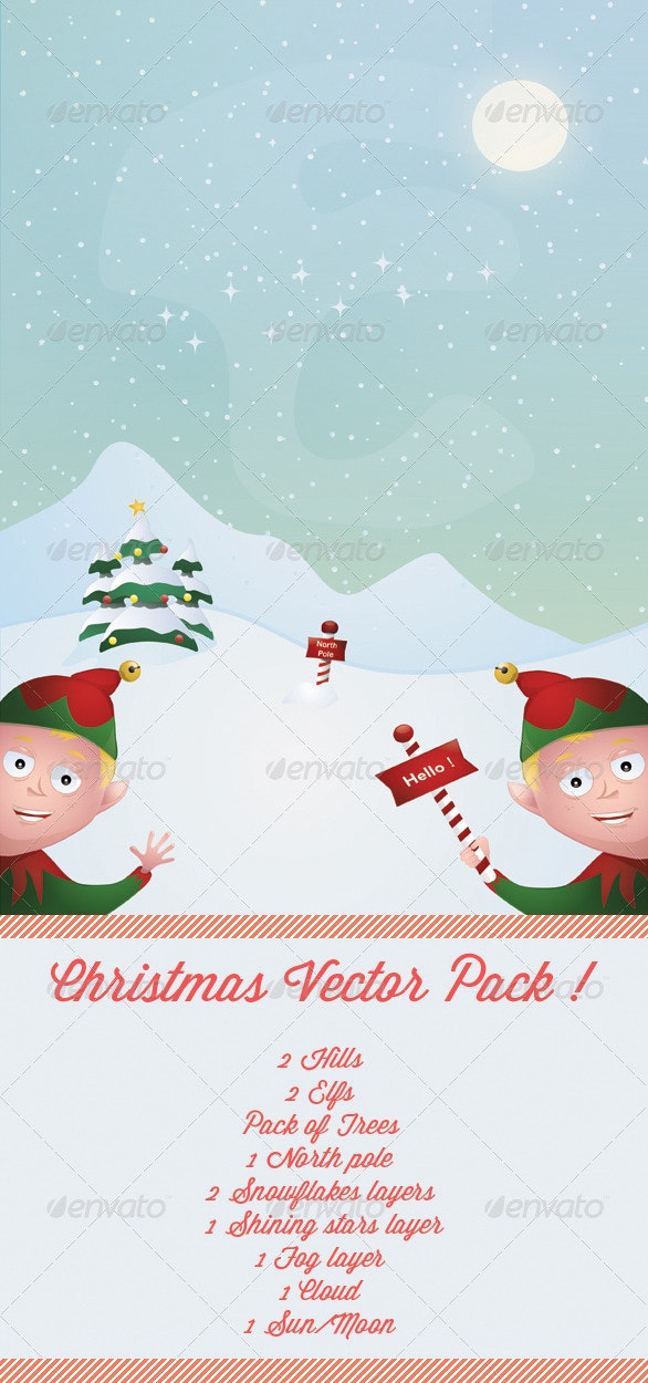 Christmas Vector Pack - Christmas Seasons/Holidays