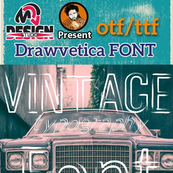 Drawvetica Font