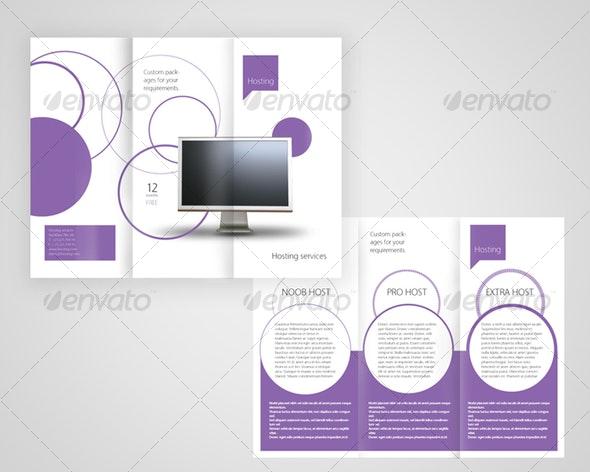 Webserver services - Corporate Brochures