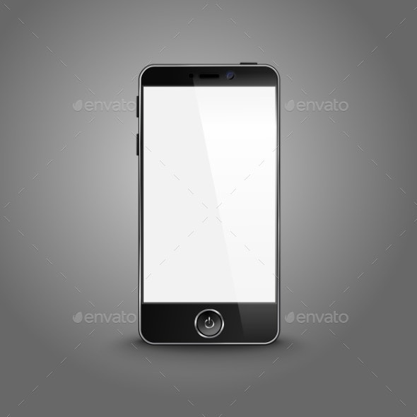 Modern Smart Phone - Man-made Objects Objects