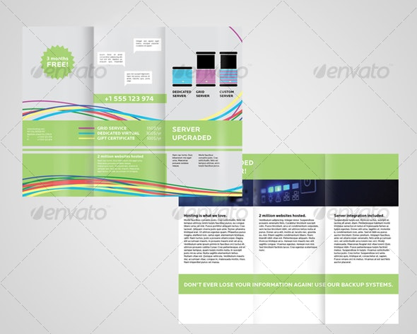 Webhosting services 1 - Corporate Brochures