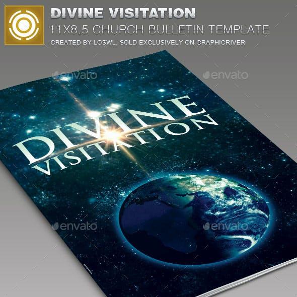 Divine Visitation Church Bulletin Template
