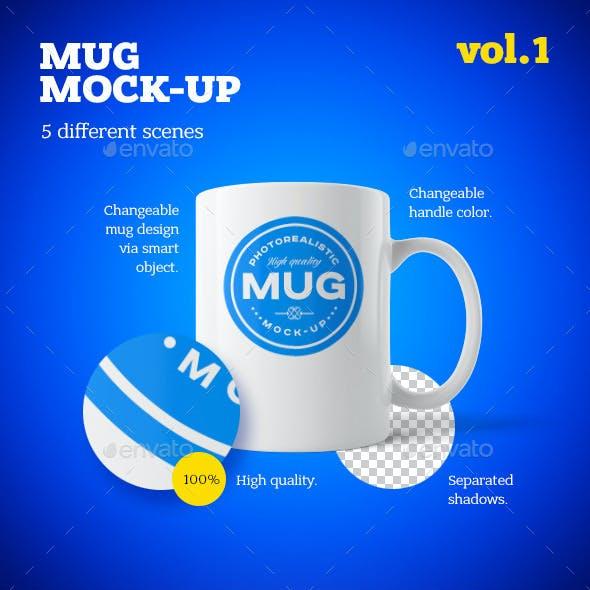 Mug Mock-up Vol.1