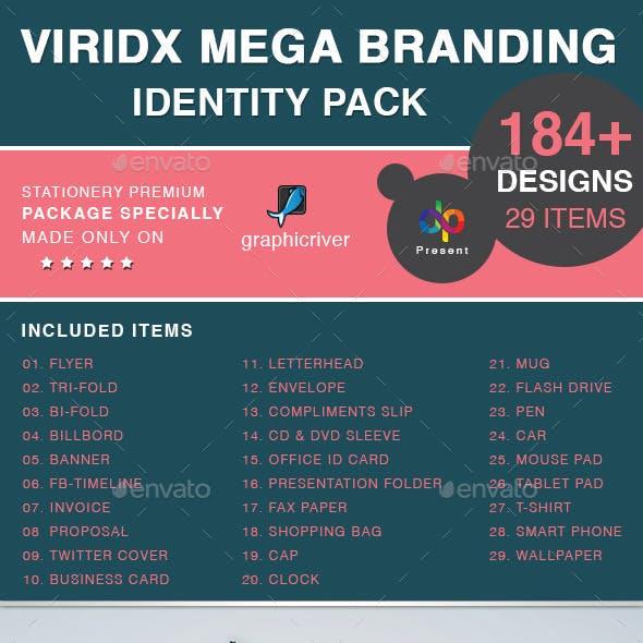 Viridx Mega Branding Identity Pack