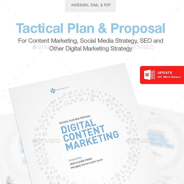 Clean Content Marketing Proposal
