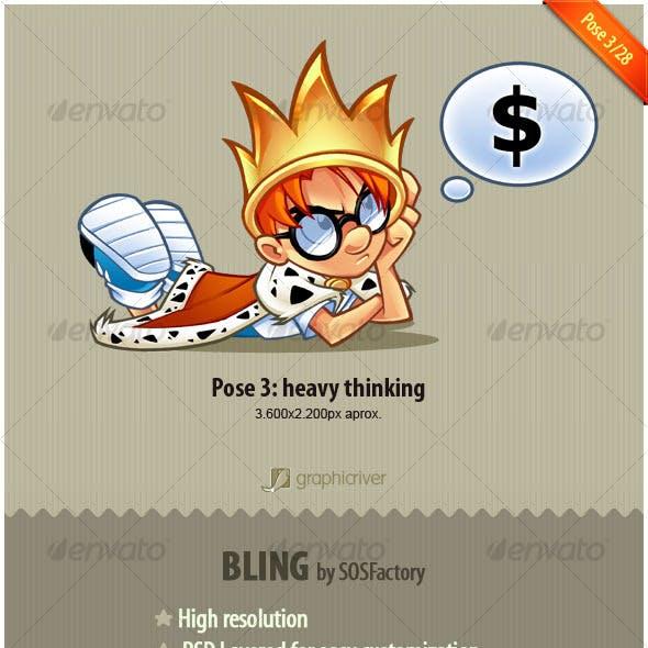 Bling Series 3/28: Heavy thinking