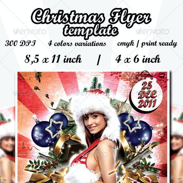 Christmas Tree Flyer Template