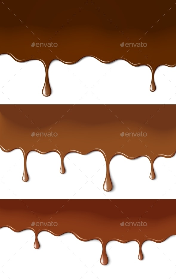 Chocolate Paints - Food Objects