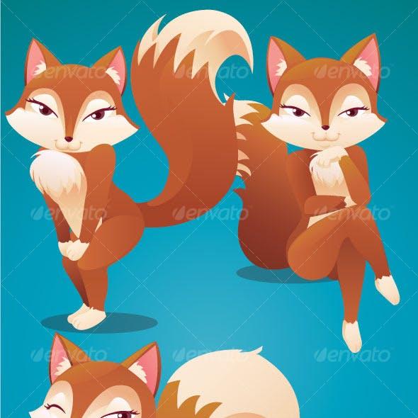 4 Sexy Fox Pose