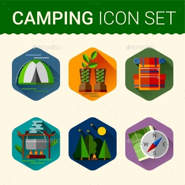 Camping Symbols