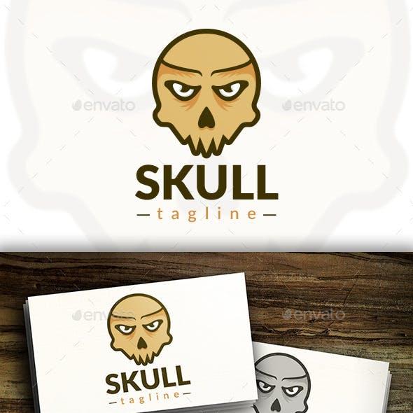 Ghost Skull Logo