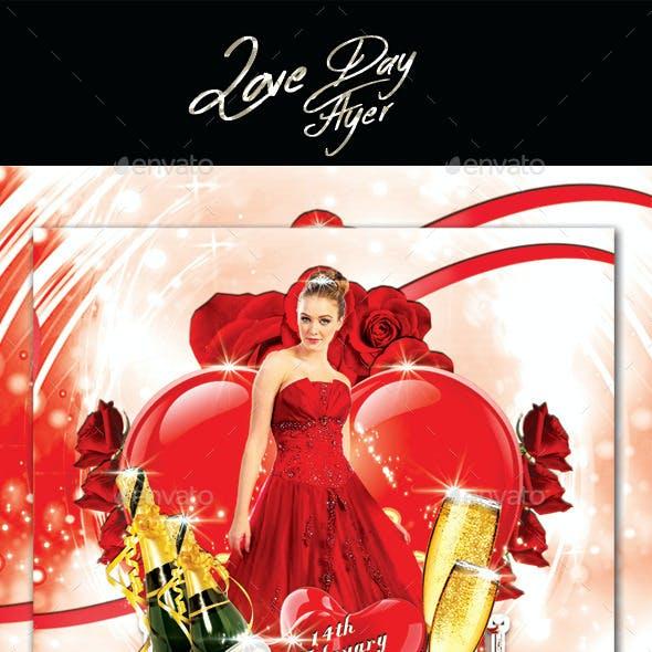Love Day Flyer
