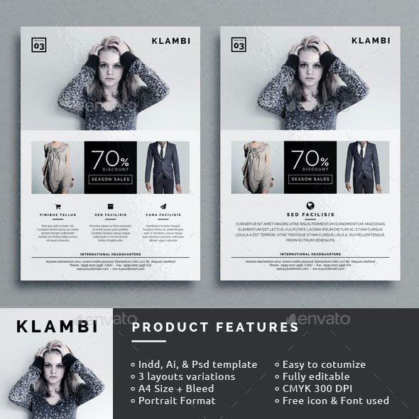 Klambi Fashion Flyer